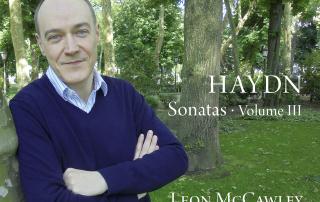 Haydn Sonatas Volume 3 cover- Leon McCawley